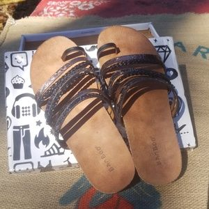 Bamboo sandals in amazing shape!